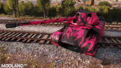 "Rheinmetall Skorpion G pack ""blue, green, hot pink"" 1.404 [1.4.0.1], 3 photo"